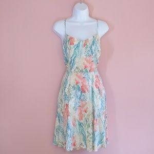 Old Navy Watercolor Sundress